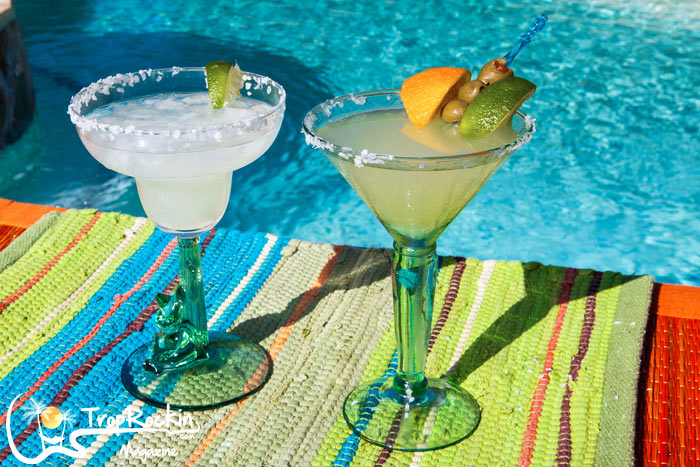 Mexican Martini Recipe is similiar to the Margarita Recipe