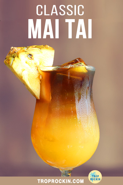 Mai Tai drink isolated