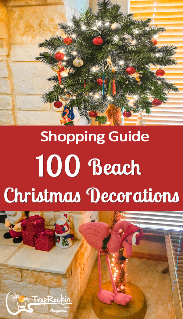 beach christmas decor shopping guide - Beach Christmas Decorations