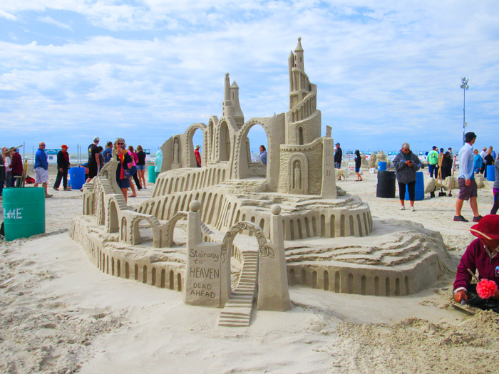 Sandfest Port Aransas Texas