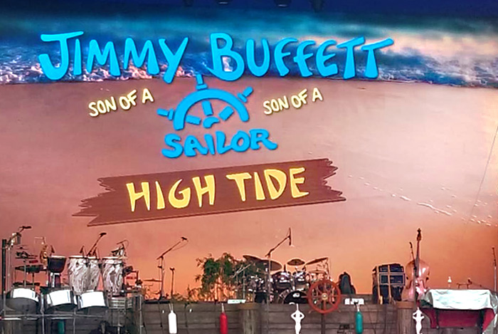 Jimmy Buffet tour at Orange Beach Alabama concert