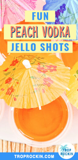 Peach Vodka Jello Shots Pinterest Pin