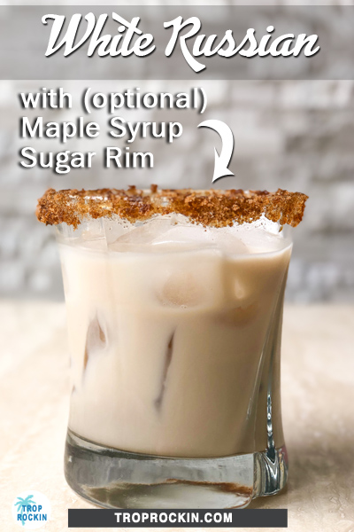 White Russian Drink Pinterest Pin